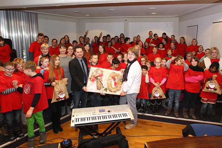 Weihnachtsgrüße Musikalisch.Stadt Wiehl Helen Keller Schule Brachte Zum 10 Mal Musikalische